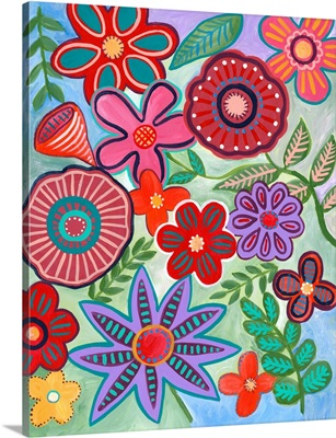 Colorful Flores I