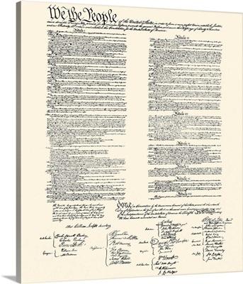 Constitution on Khaki