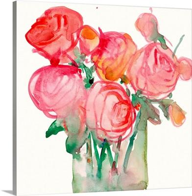 Cottage Roses I