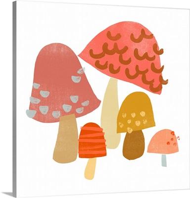 Cupcake Mushrooms I
