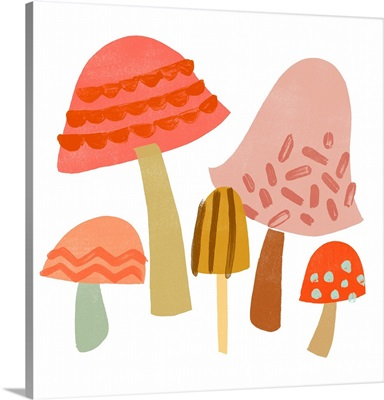 Cupcake Mushrooms IV
