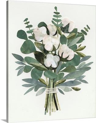 Cut Paper Bouquet III