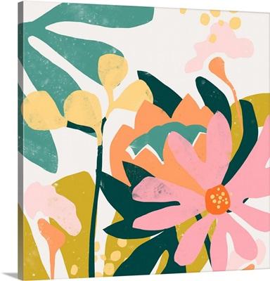 Cut Paper Garden I