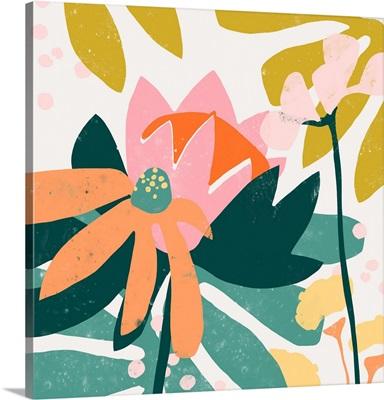 Cut Paper Garden II