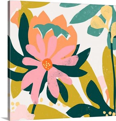 Cut Paper Garden IV