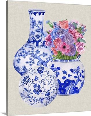 Delft Blue Vases II