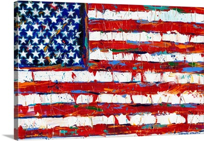 Dramatic Stars and Stripes