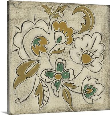 Earthenware Floral III