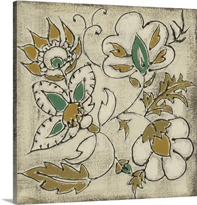 Earthenware Floral IV