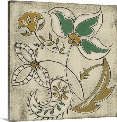 Earthenware Floral VI