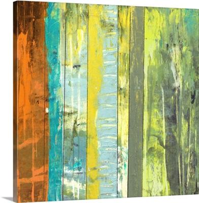 Embellished Vibrant Stripes II