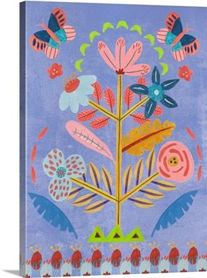 Embroidered Garden II