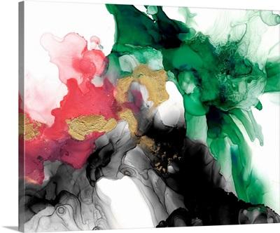 Emerald & Coral Expression II