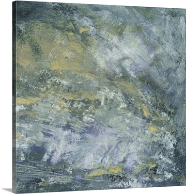 Encaustic Tile In Blue I