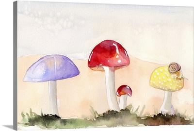 Faerie Mushrooms II