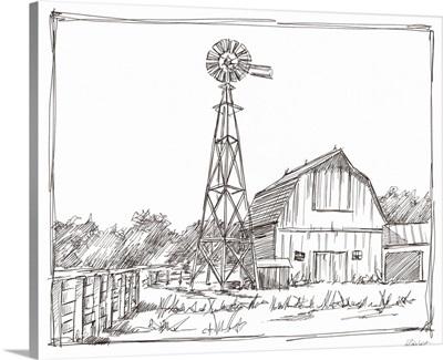 Farm Sketch II