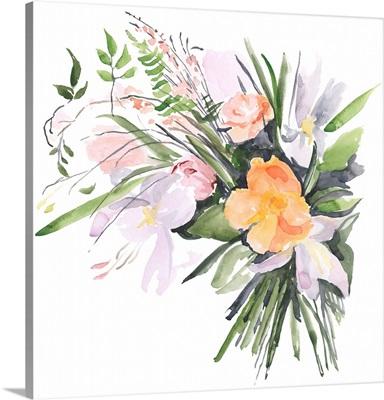 Ferns & Tulips II