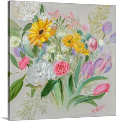Floral Burst I