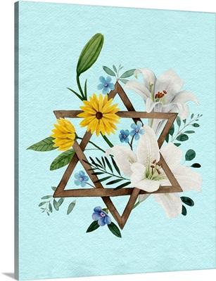 Floral Hanukkah II