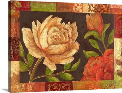 Floral Patchwork I