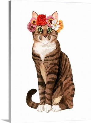 Flower Crown Cats II