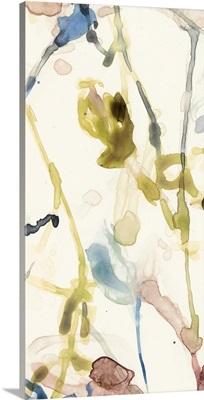 Flower Drip Triptych I