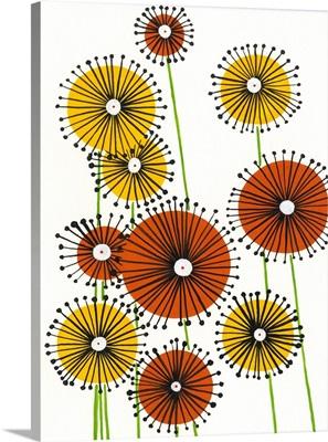 Flower Wheels I