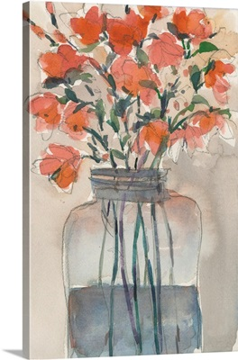 Flowers In A Jar I
