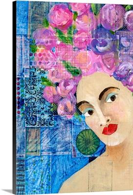 Flowers in her Hair II