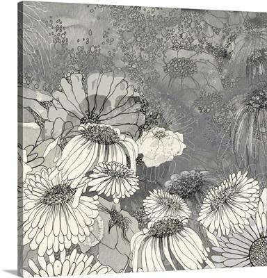 Flowers on Grey II