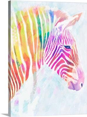 Fluorescent Zebra II