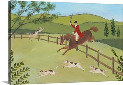 Folk Art Fox Hunt II