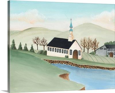 Folk Church Scene IV