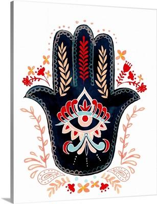 Folk Hand Hamsa II