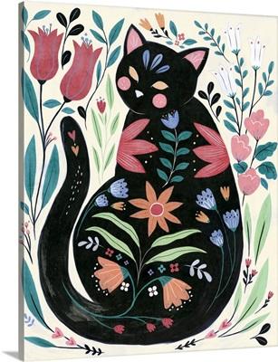 Folksy Feline I