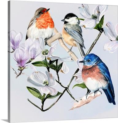 Four Little Birds I