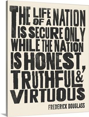 Frederick Douglass Quote II