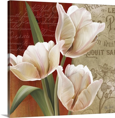 French Tulip Collage II