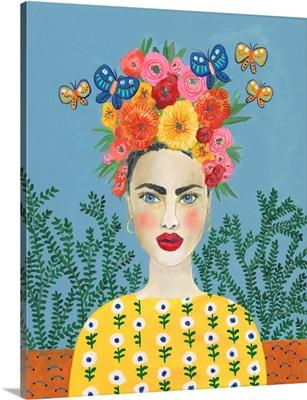 Frida Headdress I