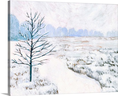 Frozen River Study I