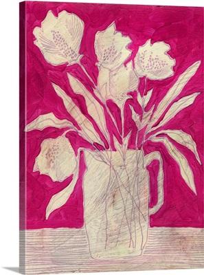 Fuchsia Arrangement II