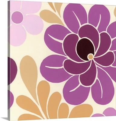 Fuchsia Floral I