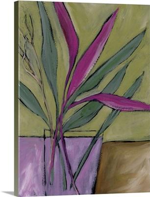 Fuchsia Stems I