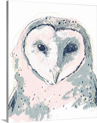 Funky Owl Portrait I