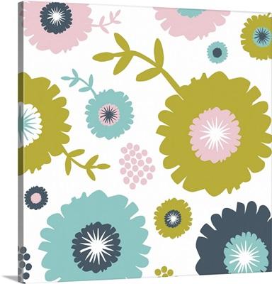 Garden Floral I