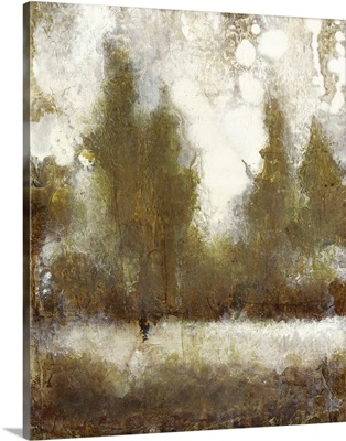 Gilded Tree Silhouette II