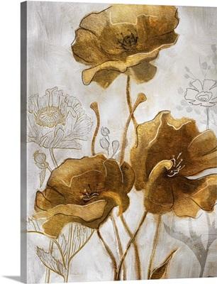 Gold & Silver Flowerfield II