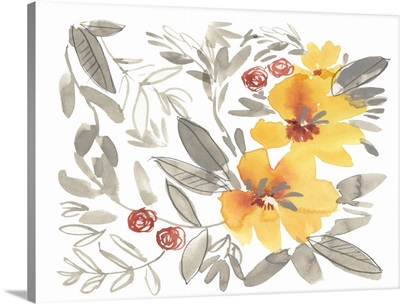 Golden Flower Composition II
