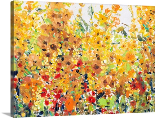 Golden Summer Garden Ii Wall Art Canvas Prints Framed Prints Wall Peels Great Big Canvas