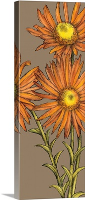 Graphic Flower Panel I